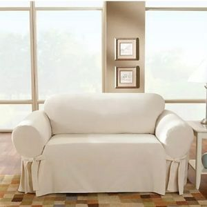 Brown Loveseat Cover